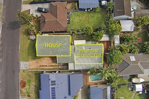 """8 Beulah Road, Noraville, 2263, Central Coast - House / House + 1 Bed """"Potential"""" Granny Flat / Carport: 1 / Garage: 1 / Air Conditioning / Built-in Wardrobes / $510,000"""