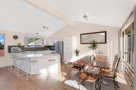 76 The Scenic Road, Killcare Heights, 2257, Central Coast - House / Coastal haven - bright, breezy and contemporary / Courtyard / Fully Fenced / Garage: 2 / Secure Parking / Built-in Wardrobes / Floorboards / Ensuite: 1 / Living Areas: 1 / P.O.A