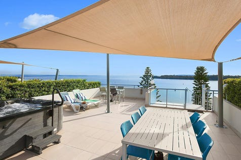22/1 Tuggerah Parade, The Entrance, 2261, Central Coast - Apartment / Breathtaking views over the lake, channel and mountain ranges  / Carport: 2 / $1,050,000