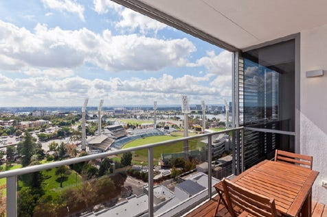 1802/8 Adelaide Terrace, East Perth, 6004, Perth City - Apartment / PRICE REDUCTION  / Balcony / Outdoor Entertaining Area / Swimming Pool - Inground / Garage: 1 / Remote Garage / Secure Parking / Air Conditioning / Broadband Internet Available / Built-in Wardrobes / Gym / Intercom / Ensuite: 1 / Living Areas: 1 / $779