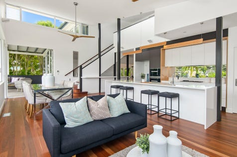 106 Crescent Road, Newport, 2106, Northern Beaches - House / New, Architect Designed Waterfront On Pittwater - Boat Shed, Slipway, Pontoon / Deck / Outdoor Entertaining Area / Garage: 4 / Ducted Cooling / Ducted Heating / Floorboards / $3,950,000