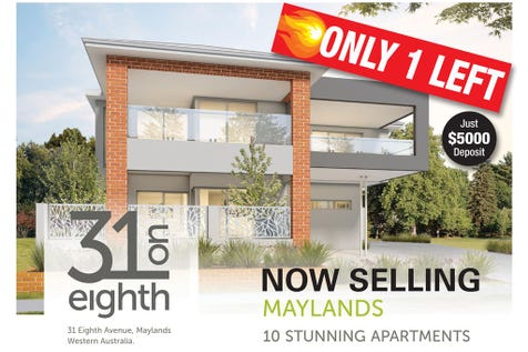 9/31 Eighth Avenue, Maylands, 6051, North East Perth - Unit / Great location! / Carport: 1 / $490,000