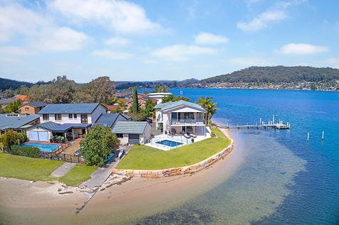 36 Mercator Parade, St Huberts Island, 2257, Central Coast - House / Outside Deep Water Front With Jetty / Balcony / Swimming Pool - Inground / Garage: 2 / Open Spaces: 5 / Secure Parking / Air Conditioning / Alarm System / Floorboards / Toilets: 4 / $2,000,000