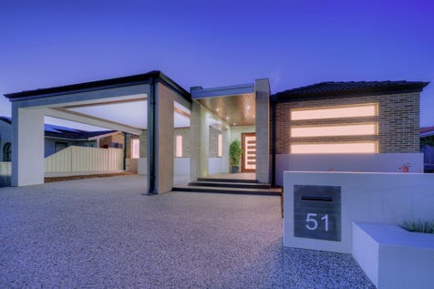 51 Lincoln Road, Morley, 6062, North East Perth - House / Quality Contemporary Masterpiece in sought after location Grand Home Open at  2:00 - 2:45pm SAT & SUN / Carport: 2 / Open Spaces: 2 / Air Conditioning / Toilets: 2 / $580,000