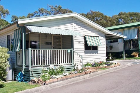 Unit 188/186 Sunrise Avenue, Halekulani, 2262, Central Coast - House / Peaceful Bush-Boundary Manufactured Home Hide-away for Sale / Courtyard / Carport: 1 / Air Conditioning / Built-in Wardrobes / $239,000