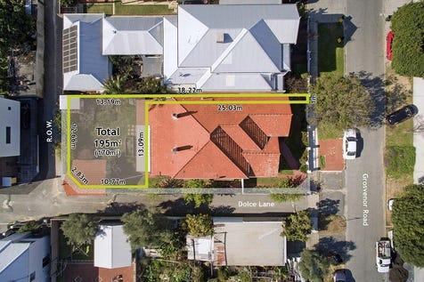 Rear, 128 Grosvenor Road, Mount Lawley, 6050, Perth City - Residential Land / Often Sought, Seldom Found! / $450,000