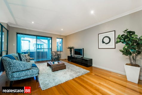 17 Tully Road, East Perth, 6004, Perth City - Townhouse / WALK TO CLAISEBROOK CAFES & RIVER! / Balcony / Garage: 2 / Open Spaces: 1 / Secure Parking / Air Conditioning / Alarm System / Floorboards / Toilets: 3 / $888,000