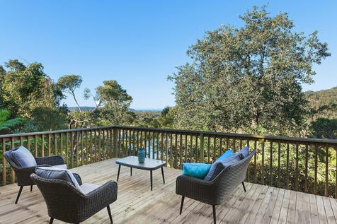 43 Horsfield Road, Horsfield Bay, 2256, Central Coast - House / Perfect coastal getaway embraced by water views / Balcony / Deck / Carport: 1 / Built-in Wardrobes / Dishwasher / P.O.A