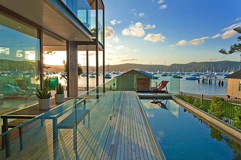 90 Hudson Parade, Clareville, 2107, Northern Beaches - House / Luxury Waterfront Masterpiece with World-Class Architectural Design / Garage: 3 / P.O.A