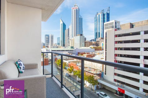 17/418 Murray Street, Perth, 6000, Perth City - Apartment / Blue Chip City Pad / Garage: 1 / Secure Parking / Air Conditioning / Alarm System / Toilets: 1 / $419,000