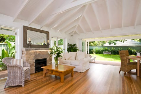 1061 Barrenjoey Road, Palm Beach, 2108, Northern Beaches - House / Classic rebuilt  Palm Beach bungalow minutes walk to Pittwater and local cafes / Balcony / Carport: 1 / Open Spaces: 2 / Floorboards / Toilets: 2 / P.O.A