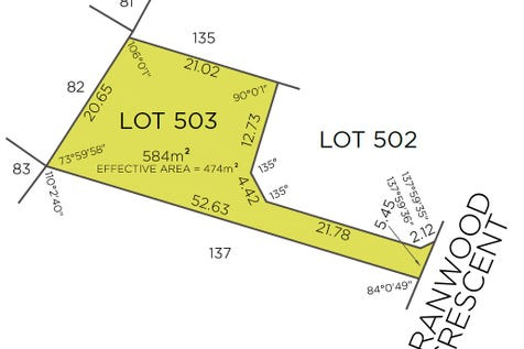 Lot 503, 30 Cranwood Crescent, Viveash, 6056, North East Perth - Residential Land / Large 584sqm rear lot / $255,000