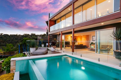 5 Bilgola Terrace, Bilgola Beach, 2107, Northern Beaches - House / Contemporary sanctuary overlooking the surf / Balcony / Deck / Garage: 2 / Air Conditioning / Built-in Wardrobes / Dishwasher / Gas Heating / $3,100,000