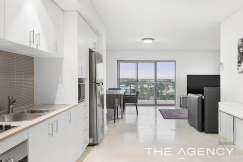 42/1 Douro Place, West Perth, 6005, Perth City - Apartment / Stunning Inner-City Top Floor Apartment / Balcony / Swimming Pool - Inground / Garage: 2 / Secure Parking / Air Conditioning / Built-in Wardrobes / Gym / Intercom / Ensuite: 2 / Living Areas: 1 / Toilets: 3 / $599,000