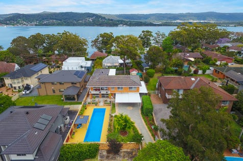 108A Albany Street, Point Frederick, 2250, Central Coast - House / Water Views & Exclusive Location / Balcony / Swimming Pool - Inground / Carport: 2 / Garage: 2 / Secure Parking / Air Conditioning / Floorboards / Toilets: 3 / $1,150,000