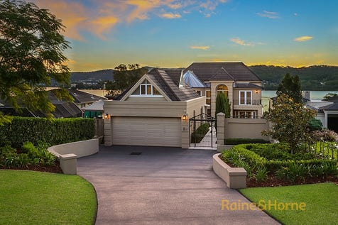 28 Albany Street, Point Frederick, 2250, Central Coast - House / Absolute Deep Waterfront / Balcony / Deck / Outdoor Entertaining Area / Swimming Pool - Inground / Garage: 2 / Remote Garage / Secure Parking / Air Conditioning / Alarm System / Built-in Wardrobes / Dishwasher / Open Fireplace / $4,300,000