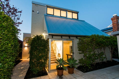22 Lawler Street, Subiaco, 6008, Perth City - House / A Statement of Style - A beautiful, light filled urban oasis / Courtyard / Fully Fenced / Outdoor Entertaining Area / Swimming Pool - Inground / Carport: 2 / Open Spaces: 2 / Air Conditioning / Broadband Internet Available / Built-in Wardrobes / Study / $1
