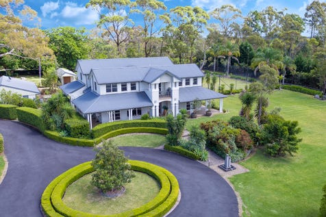 8 (Lot 414) Killawarra Road, Duffys Forest, 2084, Northern Beaches - House / Private Lifestyle Estate with Picturesque and Resort-like Luxuries / Balcony / Courtyard / Deck / Outdoor Entertaining Area / Shed / Swimming Pool - Inground / Tennis Court / Garage: 5 / Open Spaces: 5 / Remote Garage / Secure Parking / Air Conditioning / P.O.A