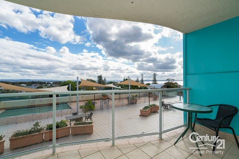 528/18 Coral Street, The Entrance, 2261, Central Coast - Unit / The Great Escape / Balcony / Swimming Pool - Inground / Open Spaces: 1 / Secure Parking / Air Conditioning / Built-in Wardrobes / Living Areas: 1 / Toilets: 1 / $265,000