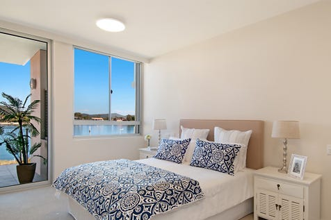 131/36 Empire Bay Dr, Daleys Point, 2257, Central Coast - Serviced Apartment / Stunning unit now available! / Balcony / Garage: 1 / Air Conditioning / Built-in Wardrobes / Dishwasher / Toilets: 2 / $435,000