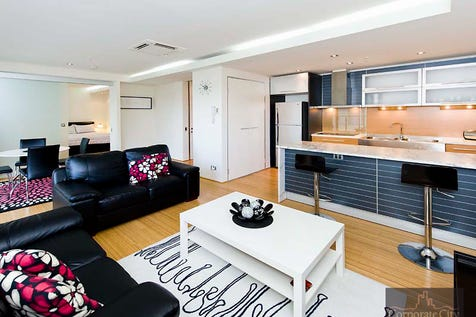 54/22 St Georges Terrace, Perth, 6000, Perth City - Apartment / Sleek and Sophisticated on St Georges Terrace / Balcony / Swimming Pool - Inground / Carport: 1 / Air Conditioning / Toilets: 1 / $450,000