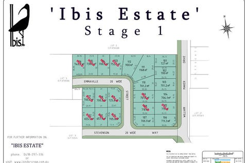 Lot 104 William Maker Drive, Orange, 2800, Central Tablelands - Residential Land / Ibis Estate / $154,000
