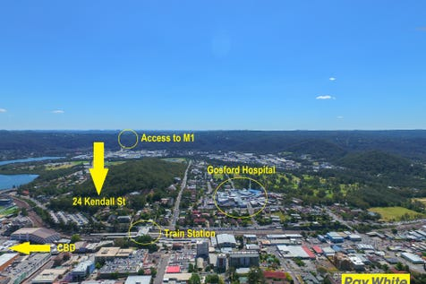 24 Kendall Street, Gosford, 2250, Central Coast - Other / Boutique Development Opportunity / Garage: 1 / Toilets: 2 / P.O.A