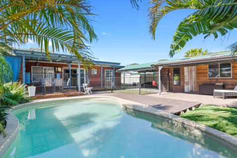 4 Clark Road, Noraville, 2263, Central Coast - House / Your Tropical Oasis Awaits / Swimming Pool - Inground / Carport: 1 / Garage: 1 / Air Conditioning / Reverse-cycle Air Conditioning / Ensuite: 1 / $510,000
