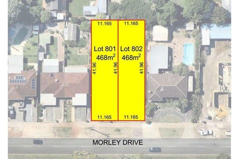 509 MORLEY DRIVE, Morley, 6062, North East Perth - Residential Land / 468 SQM GREEN TITLE STREET FRONT BLOCKS / $309,000