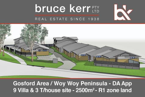 21 Memorial Avenue, Blackwall, 2256, Central Coast - House / 12 Unit Approved Development Site / Balcony / Garage: 12 / Open Spaces: 6 / Secure Parking / P.O.A