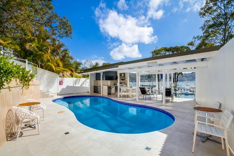 22 Prince Alfred Parade, Newport, 2106, Northern Beaches - House / Luxury Deep Waterfront Home in Magical Setting / Balcony / Courtyard / Swimming Pool - Inground / Garage: 2 / Remote Garage / Air Conditioning / Alarm System / Floorboards / $4,500,000