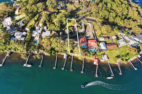 64 Daley Avenue, Daleys Point, 2257, Central Coast - House / Deep waterfront home on 1,284sqm with private jetty / Carport: 2 / P.O.A
