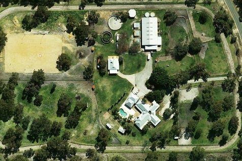 20and24 Irwin Street, Henley Brook, 6055, North East Perth - Lifestyle / LIFESTYLE & HORSE PARADISE on 10  ACRES! / Courtyard / Deck / Fully Fenced / Outdoor Entertaining Area / Shed / Swimming Pool - Inground / Carport: 4 / Air Conditioning / Built-in Wardrobes / Dishwasher / Floorboards / Gas Heating / Indoor Spa / Study / P.O.A
