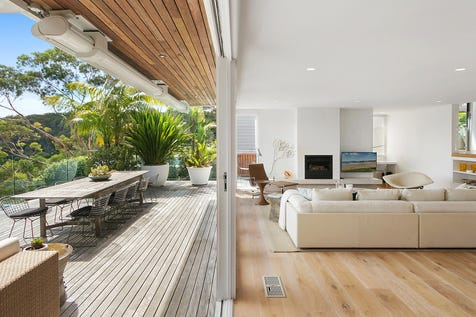 22 Bynya Road, Palm Beach, 2108, Northern Beaches - House / Superior beach house with breathtaking outlook / Balcony / Deck / Carport: 4 / Built-in Wardrobes / Dishwasher / $3,700,000