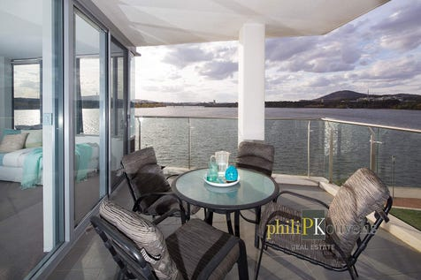 100/11 Trevillian Quay, Kingston, 2604, Inner South - Apartment / Amazing Water Views to Canberra's Icons / Air Conditioning / Ensuite: 1 / $1,105,000
