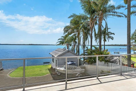 164 & 164A Main Road, Toukley, 2263, Central Coast - House / North Facing Absolute Waterfront Home with Boat Ramp / Garage: 3 / P.O.A