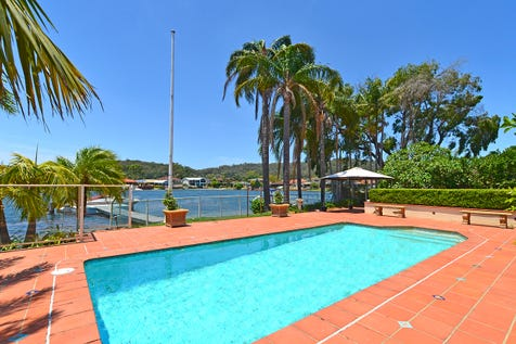 11 Heron Place, St Huberts Island, 2257, Central Coast - House / DEEP NORTHERLY WATERFRONT WITH JETTY / Balcony / Swimming Pool - Inground / Garage: 2 / Secure Parking / Air Conditioning / $1,350,000
