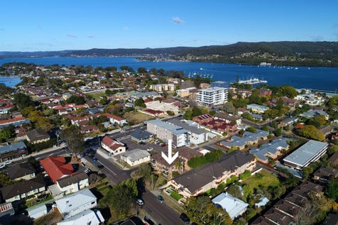 9/42 Frederick Street, Point Frederick, 2250, Central Coast - Unit / Renovated Top Floor Apartment & Water Views / Balcony / Garage: 1 / Secure Parking / Toilets: 1 / P.O.A