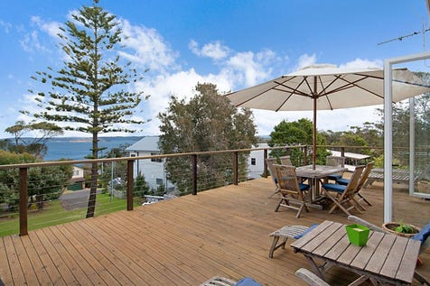 9 Smithy Street, Killcare Heights, 2257, Central Coast - House / Superbly positioned beach house with rebuild opportunity / Balcony / Open Spaces: 4 / Air Conditioning / Floorboards / Toilets: 1 / $849,000