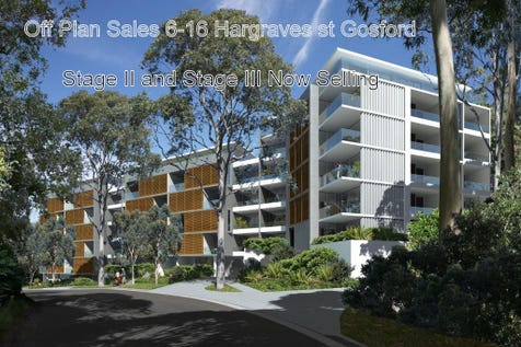 86/6-16 Hargraves st, Gosford, 2250, Central Coast - Unit / Feature Packed Off Plan Selling Unit Near CBD in Tree Lined Street / Balcony / Garage: 1 / Secure Parking / Air Conditioning / Alarm System / $455,000