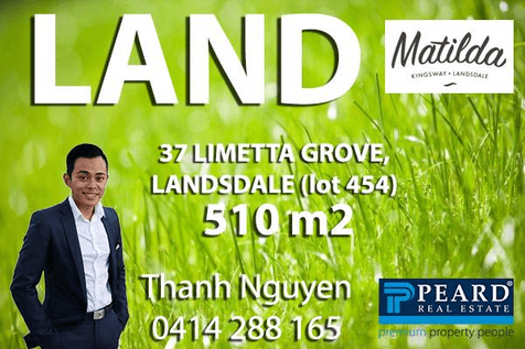 37 Limetta Grove, Landsdale, 6065, North East Perth - Residential Land / Live where you belong! / $334,000