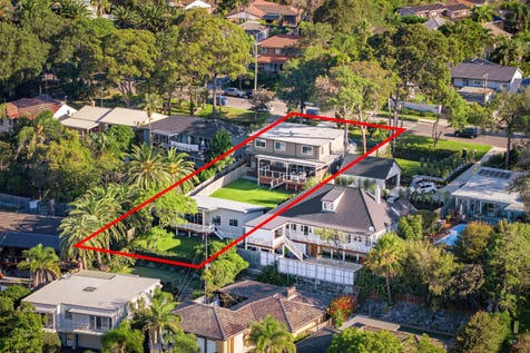 53a Waterview Street, Mona Vale, 2103, Northern Beaches - House / Two Stunning Homes on Tranquil Sunny Lawns / Balcony / Garage: 3 / Secure Parking / Air Conditioning / Floorboards / $2,395,000