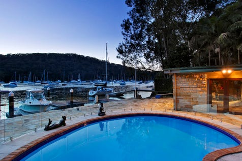 14 Mccarrs Creek Road, Church Point, 2105, Northern Beaches - House / Waterfront Modern Luxury with Jetty and Pontoon / Garage: 2 / $4,500,000