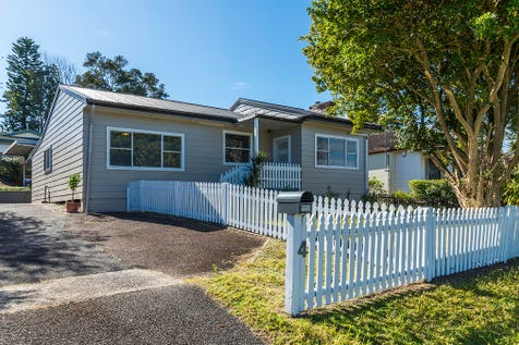 4 Glencoe Avenue, Wyoming, 2250, Central Coast - House / MUST SELL! Auction 7th Oct @ 12.15pm Guide: $480,000 / Garage: 2 / Air Conditioning / Built-in Wardrobes / Floorboards / Open Fireplace / $480,000