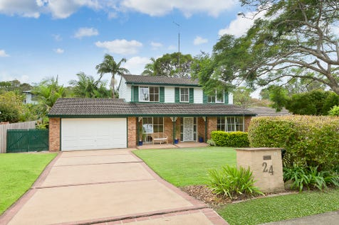24 Vineyard Street, Mona Vale, 2103, Northern Beaches - House / Forever Family Home with Picture Perfect Backyard  / Garage: 2 / Air Conditioning / P.O.A