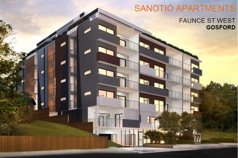 25/75-77 Faunce Street West, Gosford, 2250, Central Coast - Unit / Sanotio'Apartments / Garage: 1 / P.O.A
