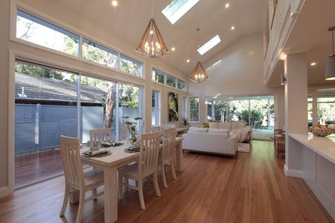 """9 Therry Street, Avalon Beach, 2107, Northern Beaches - House / """"New Master Built Binet Home - Now Selling"""" / Deck / Outdoor Entertaining Area / Swimming Pool - Inground / Garage: 2 / Alarm System / Broadband Internet Available / Built-in Wardrobes / Dishwasher / Ducted Vacuum System / Intercom / Rumpus Room / Study / P.O.A"""