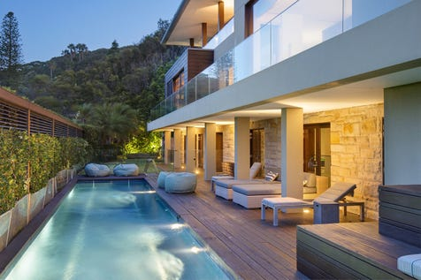167 Pacific Road, Palm Beach, 2108, Northern Beaches - House / Ocean & Pittwater Panorama - Superb Residence of International Standing / Garage: 4 / Air Conditioning / Alarm System / Open Fireplace / Study / Ensuite: 1 / Living Areas: 3 / P.O.A