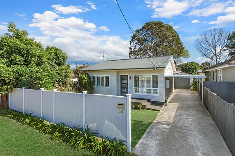 53 Moana Street, Woy Woy, 2256, Central Coast - House / RENOVATED HOME WITHIN WALKING DISTANCE TO WOY WOY TRAIN STATION / Open Spaces: 2 / P.O.A