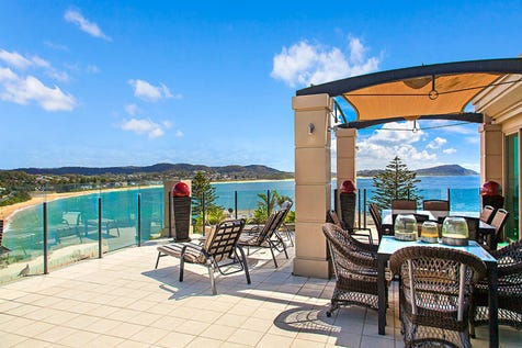 52/8 Terrigal Esplanade, Terrigal, 2260, Central Coast - Apartment / Luxury Penthouse with outstanding ocean views to Norah Head / Balcony / Outside Spa / Swimming Pool - Inground / Tennis Court / Garage: 2 / Secure Parking / Air Conditioning / Built-in Wardrobes / Dishwasher / Gym / Ensuite: 2 / Living Areas: 2 / $2,600,000